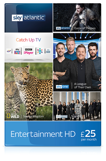 Exclusive six months Sky TV contract